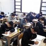 香川の中3生が年末特訓で頑張りました