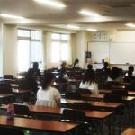 愛大附属中入試模試を実施しました。