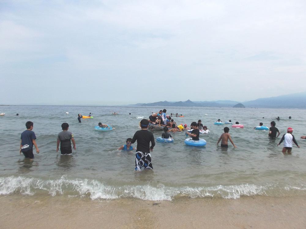 海は楽しいな~
