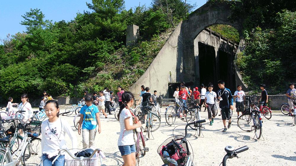 サイクリングで遺跡めぐり